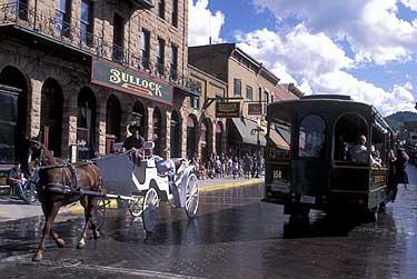 Deadwood History South Dakota